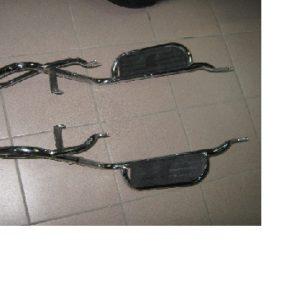 Багажник Alpha с подножками