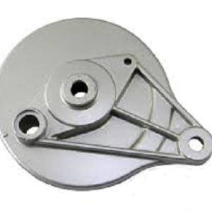 Барабан тормозной задний голый DELTA, Альфа (крышка)