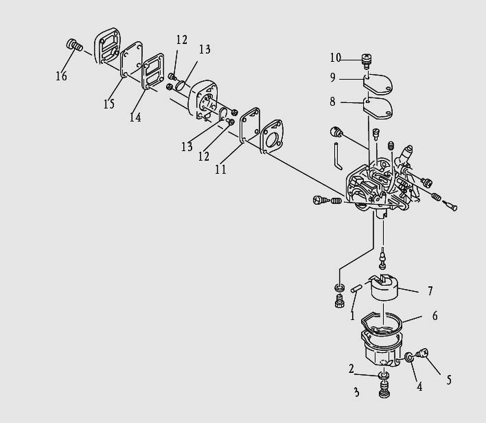 Лодочный мотор сиа про 9.9 схема мотора