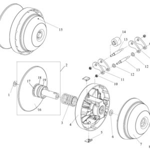 Регулятор центробежный (вариатор)