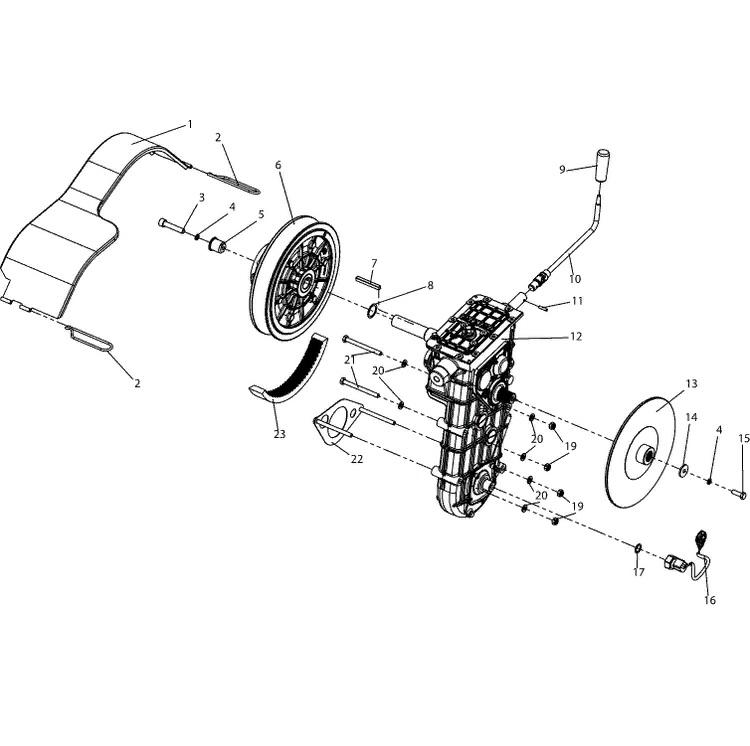 Трансмиссия С40600700-07
